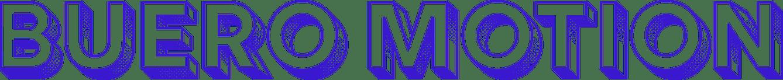 Buero Motion Logo